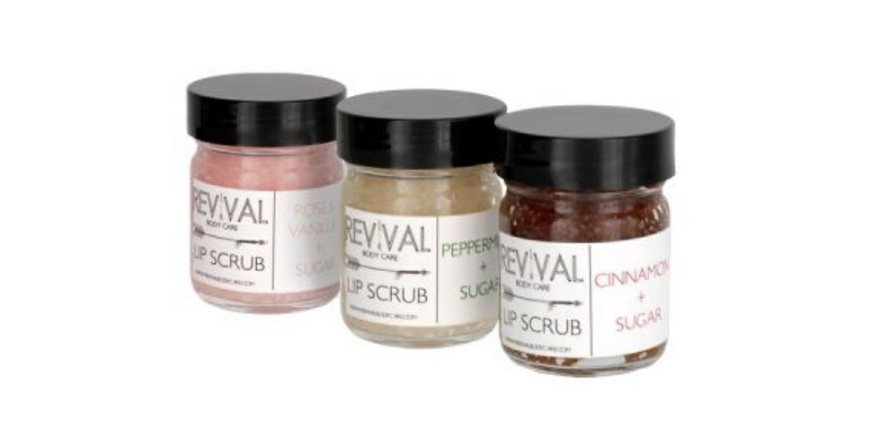 Revival Lip Scrubs