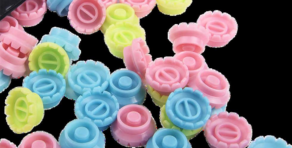Volume Flower Adhesive Rings 50 Pack