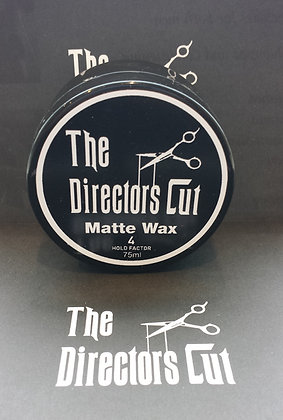 The Directors Cut Matte Wax