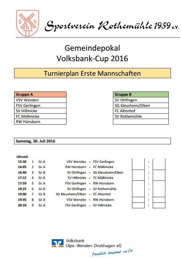 Gemeindepokal 2016
