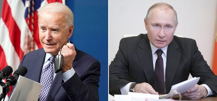 Joe Biden - Wladimir Putin