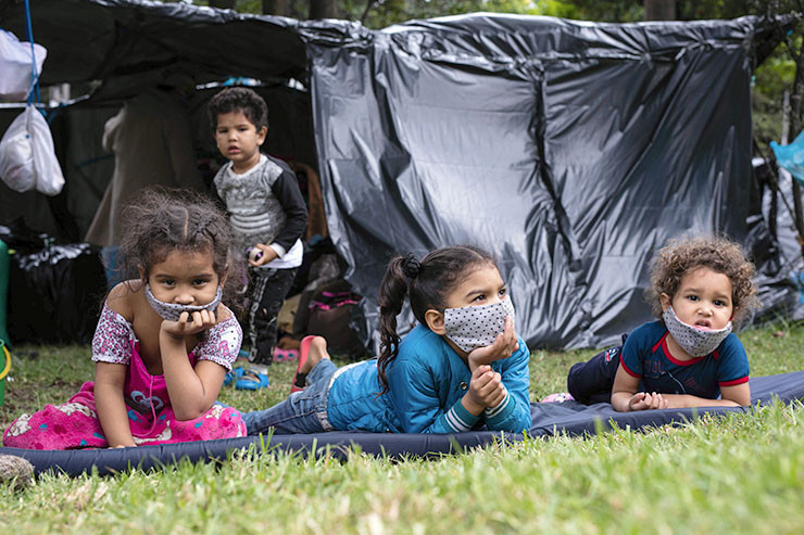 Venezolanische Kinder
