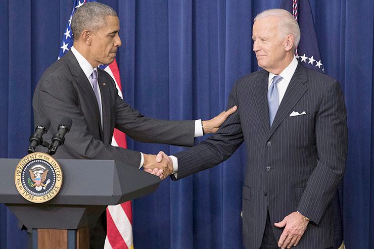 Kandidat Biden - Barack Obama