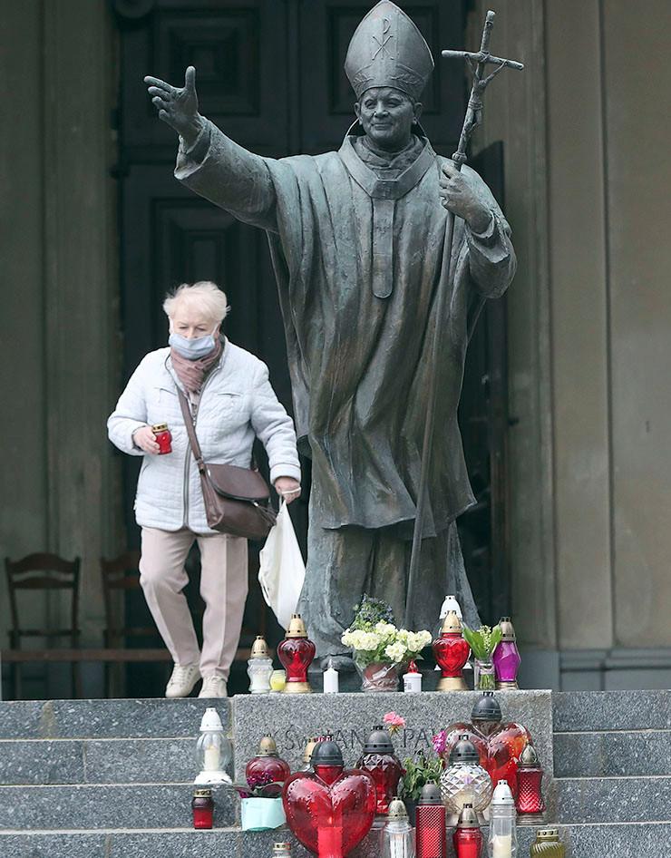 Johannes Paul II. - Denkmall