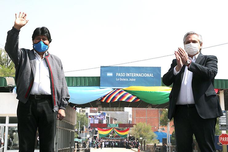 Evo Morales - Alberto Fernández
