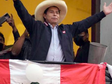 Linkskandidat Castillo knapp vorne