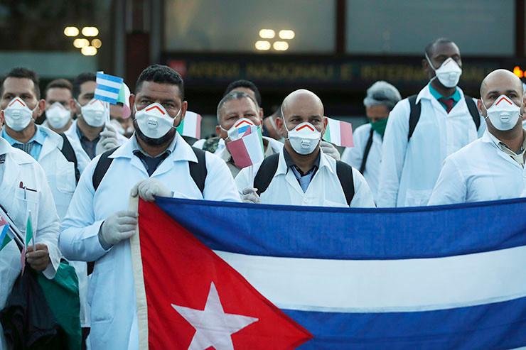 Kubanisches Gesundheitspersonal