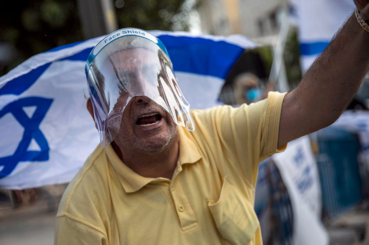 Proteste in Jerusalem