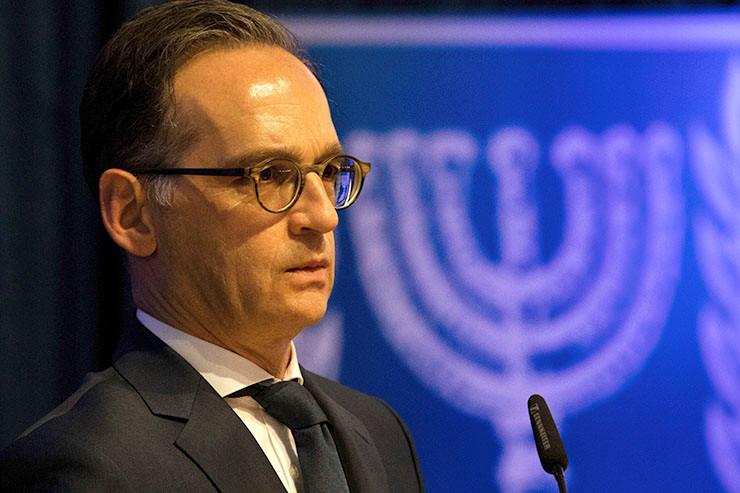 Heiko Maas in Israel