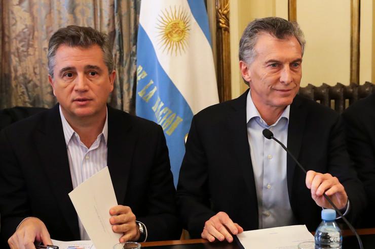 Luis Miguel Etchevehere - Mauricio Macri.