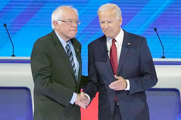Bernie Sanders - Joe Biden