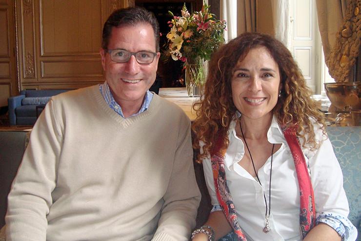 Daniel Winzenried und Cintia Jaime