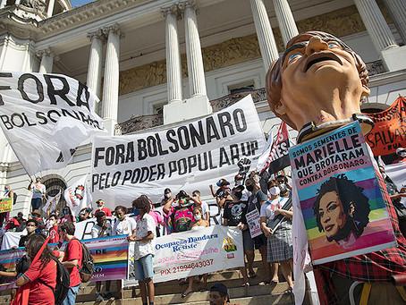 Massenproteste in Brasilien gegen Bolsonaro