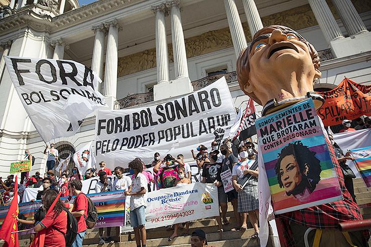 Demo in Brasilien