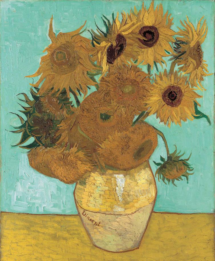 """Van Goghs Meisterwerk """"Sonnenblumen"""""""