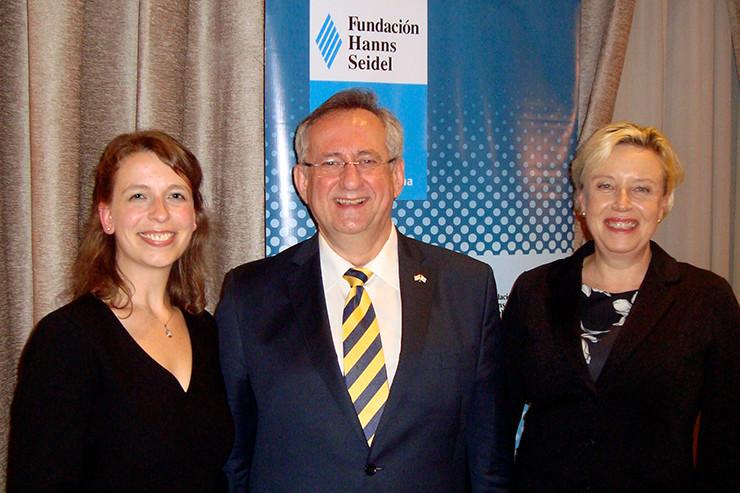 Klaus Georg Binder, Susanne Luther und Esther Stark