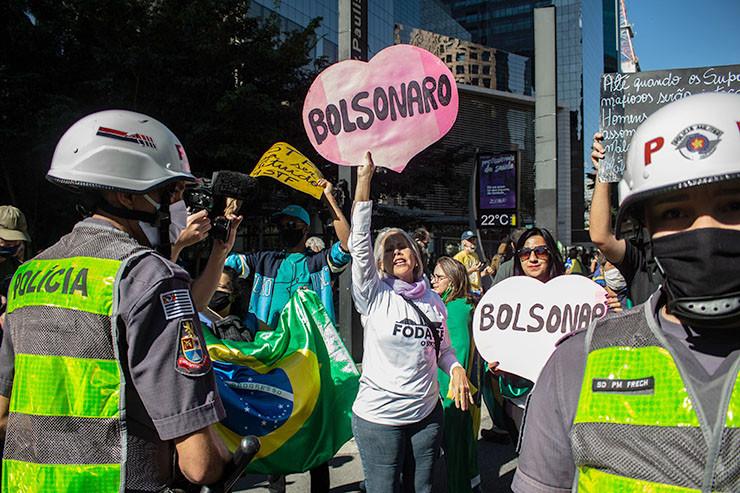 Konfrontation in Sao Paulo