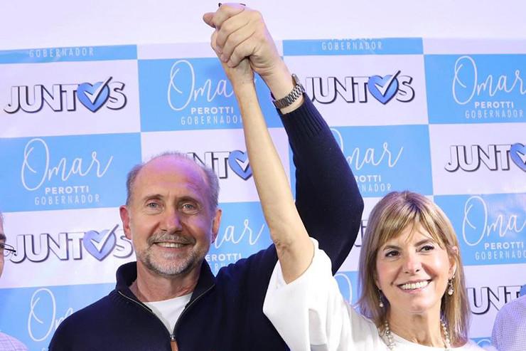 Omar Perotti und Alejandra Rodenas