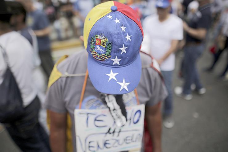 Interimspräsident Juan Guaidó rief zu Protesten gegen die Regierung Nicolás Maduros auf.