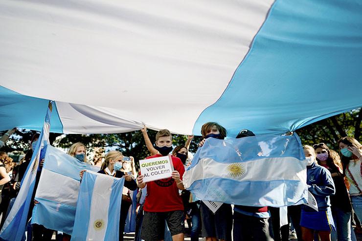 Proteste in Avellaneda
