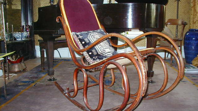Josef Hoffman Bentwood Rocking Chair