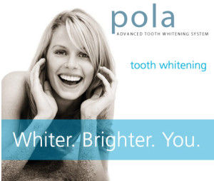 Pola advanced tooth whitening system