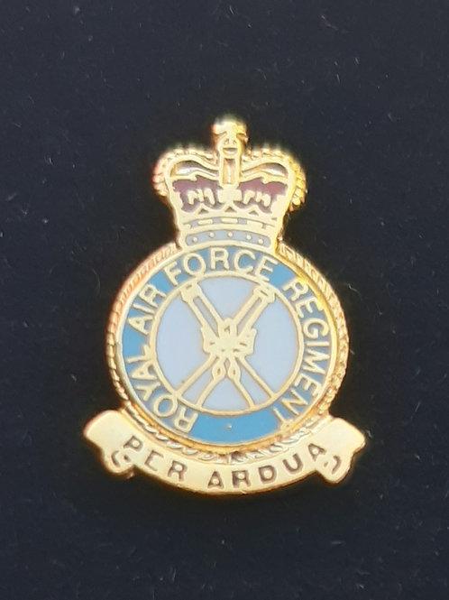 Royal Air Force Regiment (RAF Regt) lapel pin badge