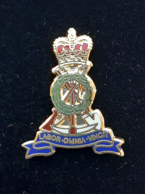 Royal Pioneer Corps (RPC) lapel pin badge