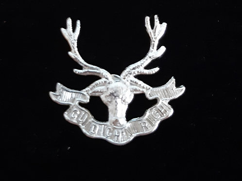 Seaforth Highlanders lapel pin badge