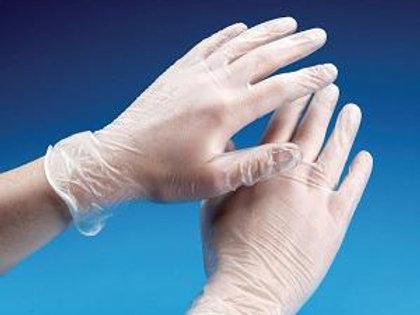Multi-buy Clear Vinyl disposable gloves (100 gloves per box)