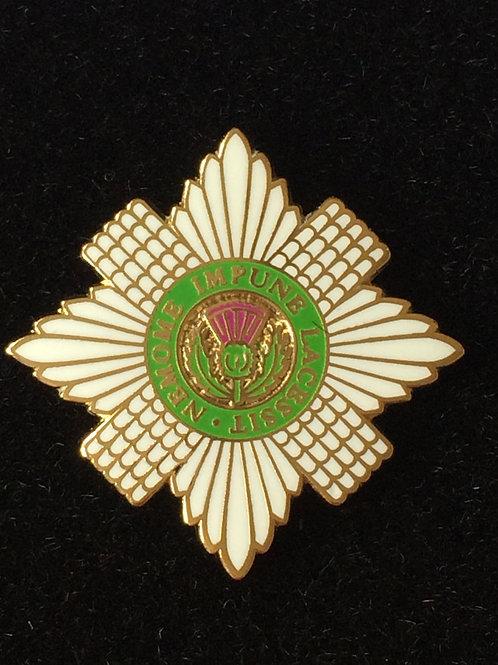 Scots Guards lapel pin badge