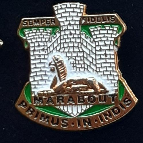 Devon and Dorset Regiment lapel pin badge