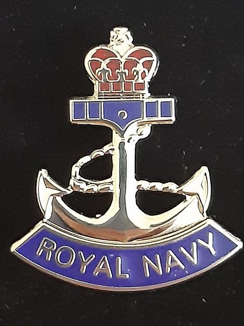 Royal Navy Anchor lapel pin badge