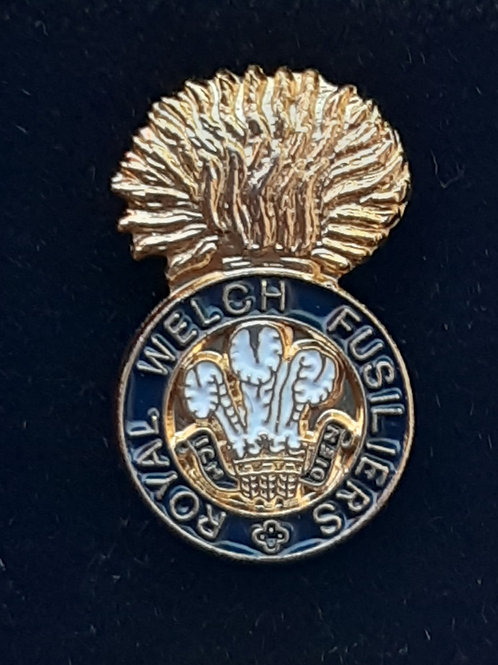 Royal Welch Fusiliers (RWF) lapel pin badge