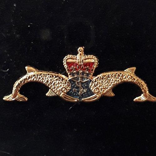 HM Submarine Service lapel pin badge