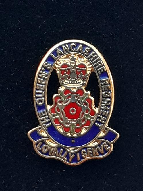 Queens Lancashire Regiment (QLR) lapel pin badge