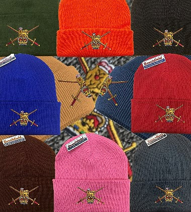 Army embroidered Beanie Hats