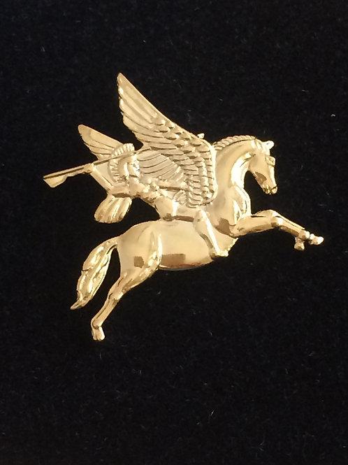 Airborne Pegasus lapel pin badge