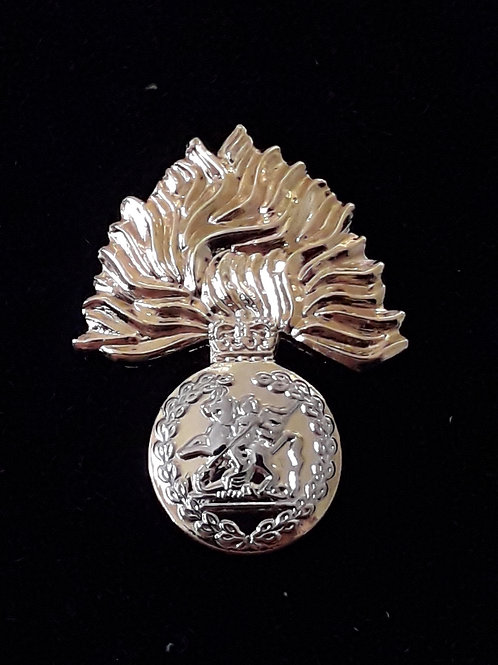 Royal Regiment of Fusiliers (RRF) lapel pin badge