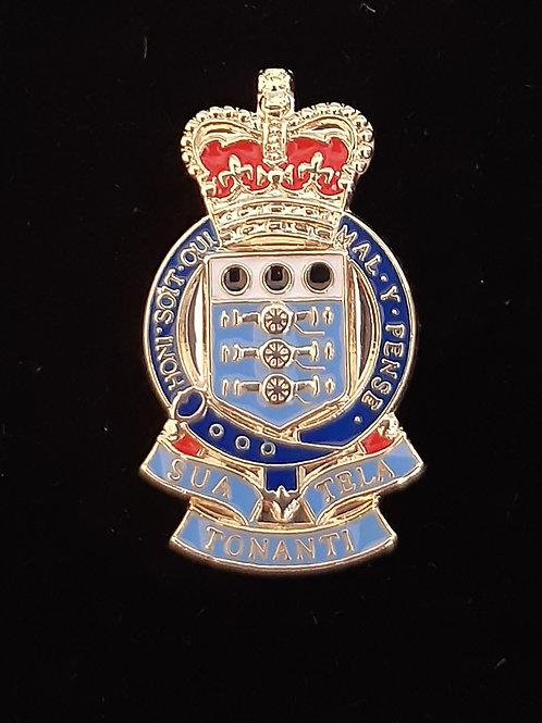 Royal Army Ordnance Corps (RAOC) lapel pin badge