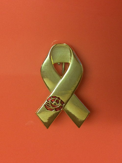 Support for Armed Forces Veterans Gold Ribbon