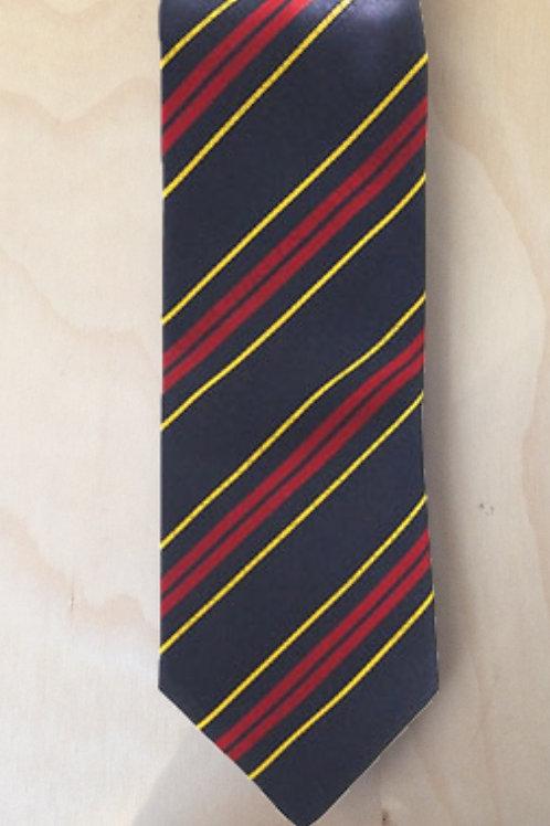 Royal Logistic Corps (RLC) Regimental Striped Tie