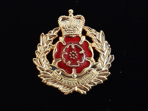 Duke of Lancaster Regiment lapel pin badge