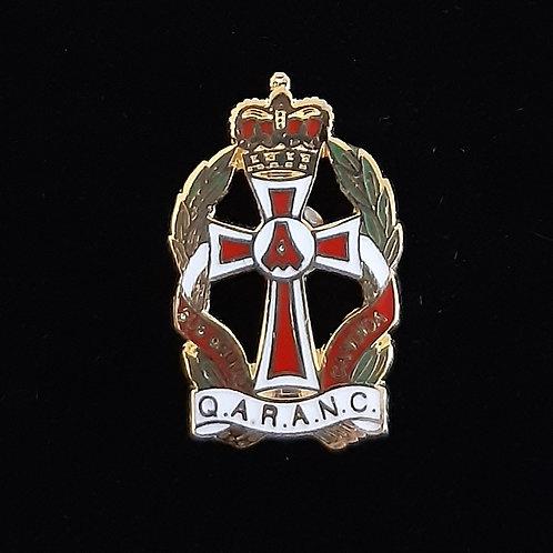 Queen Alexandra's Royal Army Nursing Corps (QARANC) lapel pin badge