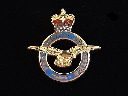 Royal Air Force (RAF) lapel pin badge
