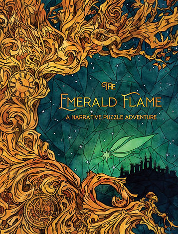 The Emerald Flame Game Box