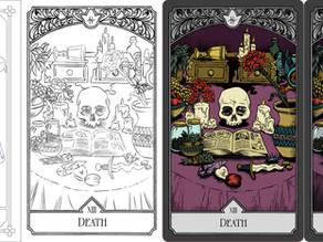Design Diary 4 [Tarot Series] - On Collaboration