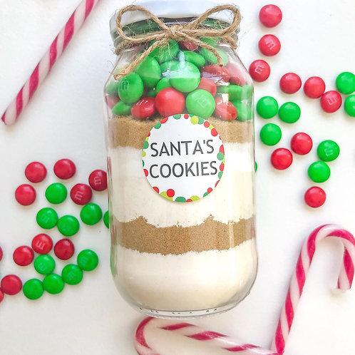 DIY Santa's Cookies