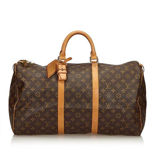 Louis Vuitton Keepall 50 Travel Bag