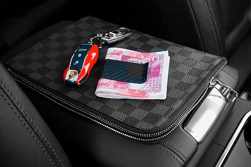 Carbon Fiber Money & Card Clip